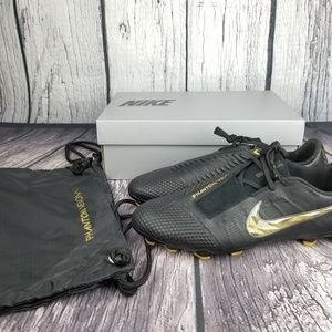 Nike Phantom Venom Elite FG Black Cleats